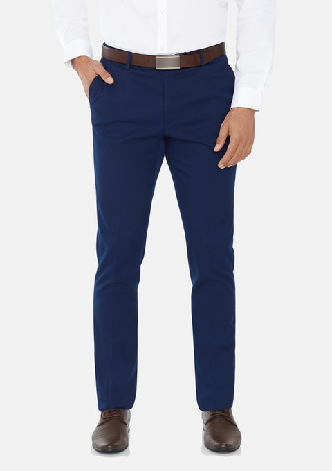 Blue Diamond Slim Stretch Dress Pant