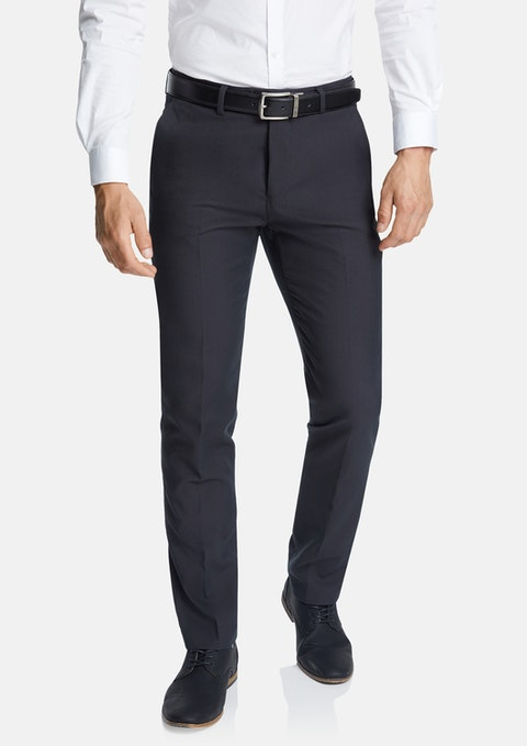 Smoke Diamond Slim Stretch Dress Pant