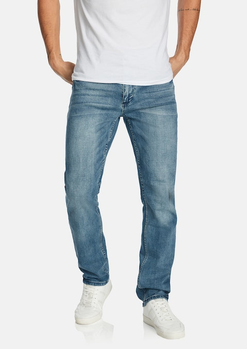 Blue Avalon Straight Jean