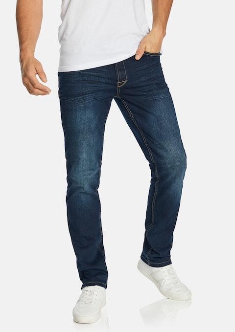 Blue Wade Straight Jean