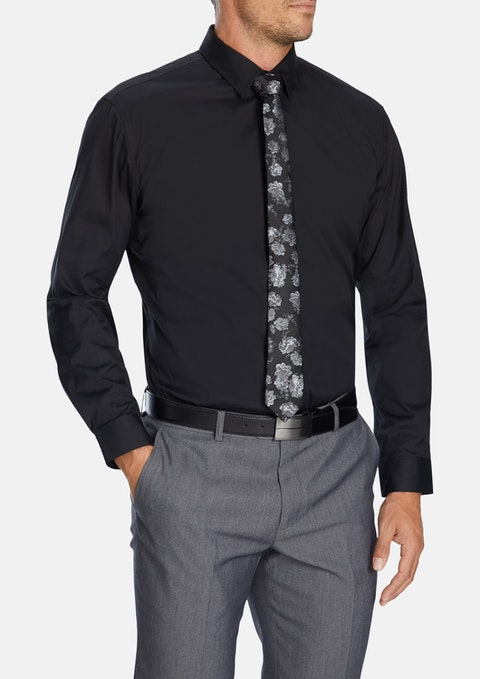 Black Cyrus Dress Shirt
