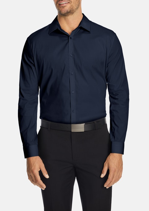 Navy Cyrus Dress Shirt