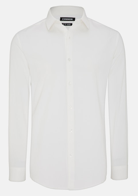 Ivory Fernside Dress Shirt