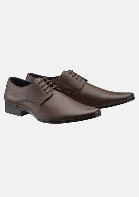 Chocolate Highgate Lace Up Shoe