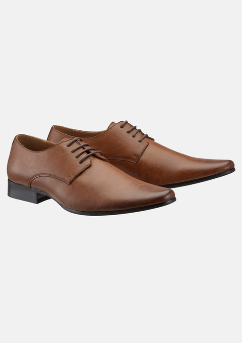 Tan Highgate Lace Up Shoe