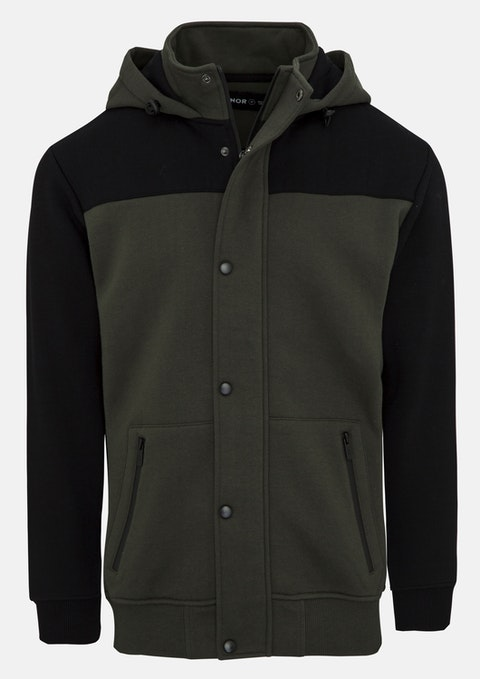 Olive Leadville Sweat Jacket