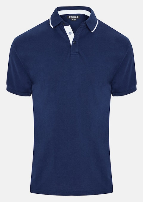 Blue Forestry Polo