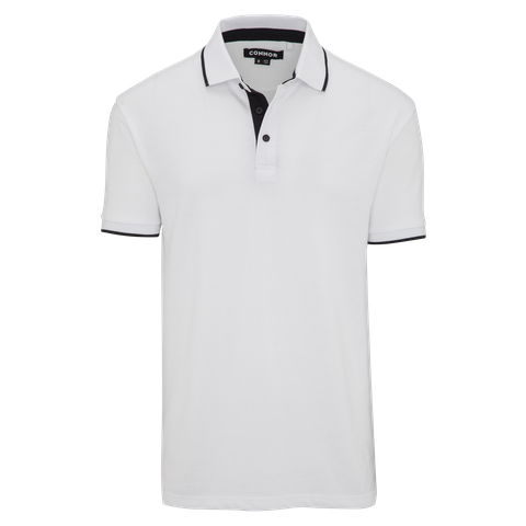 White Forestry Polo by Connor