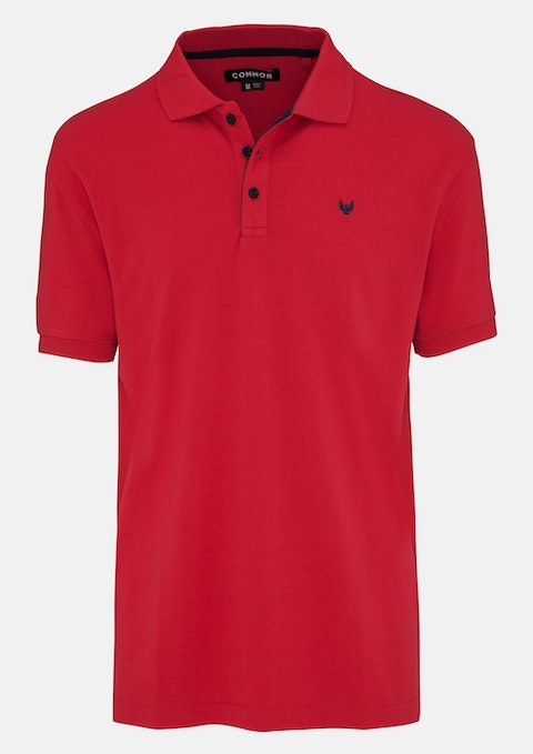 454831acf Red Beep Polo by Connor | Shop our Men's Apparel