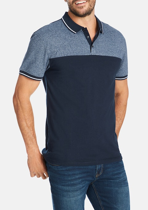 Navy Fulham Polo
