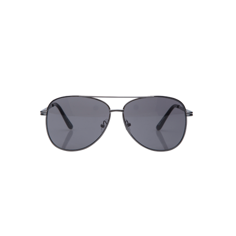 Gunmetal Sparman Sunglasses by Connor