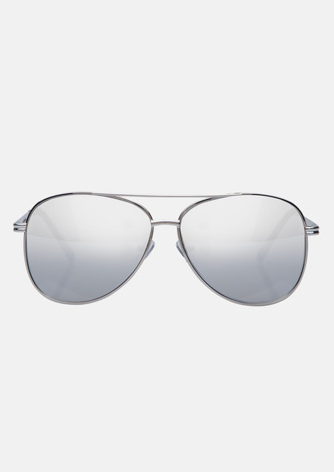 Silver Sparman Sunglasses