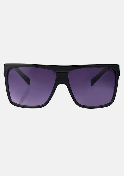 Black Stripe Halifax Sunglasses