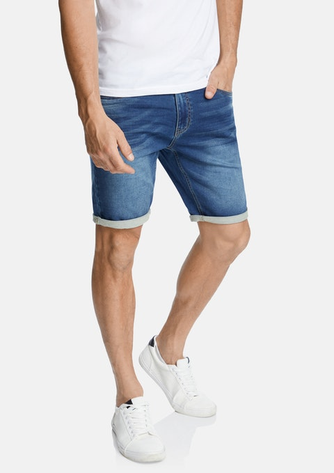 Indigo Ned Denim Short