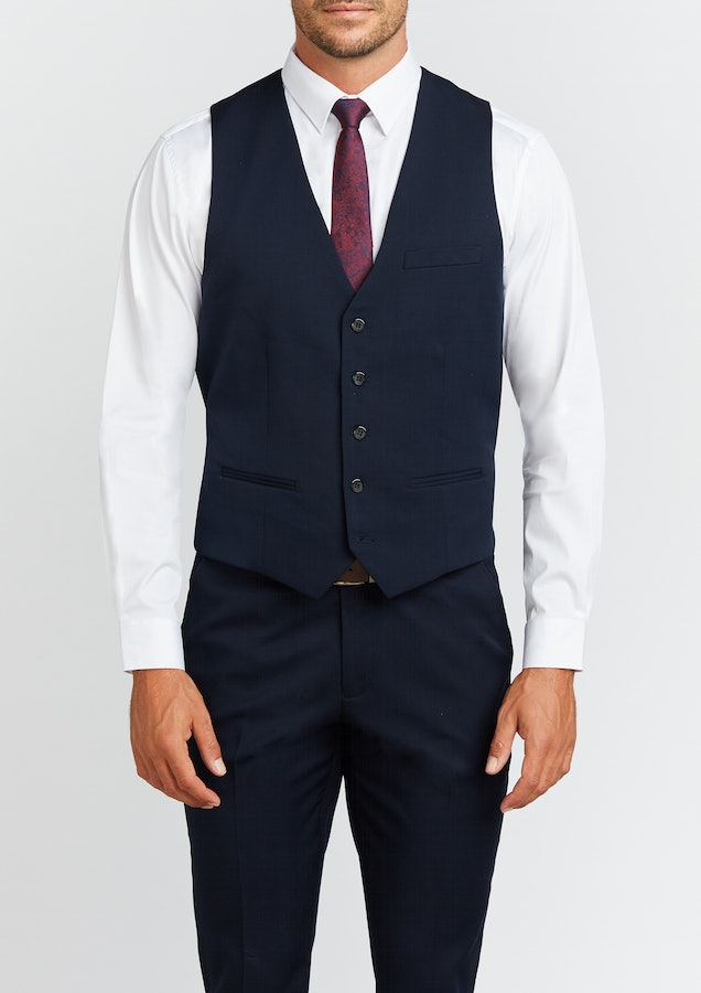 Connor Diamond Stretch Waistcoat