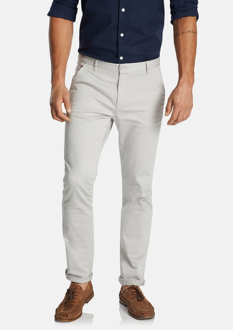 Ice Platinum Slim Stretch Chino