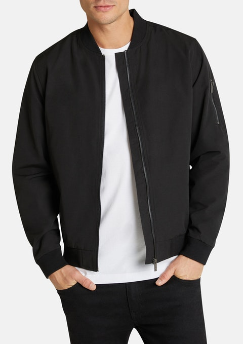 Black Danny Bomber Jacket