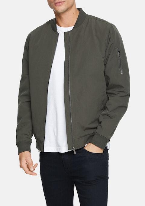 Khaki Danny Bomber Jacket