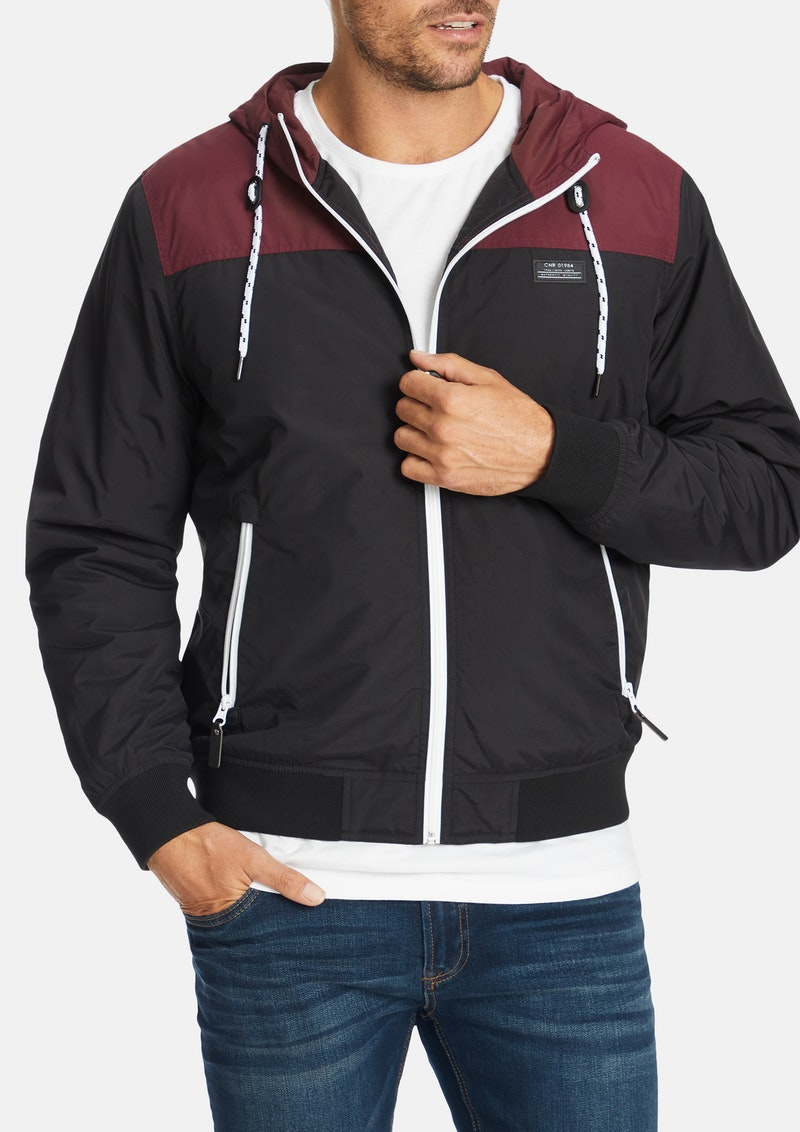 Wine Freddy Jacket By Connor Shop Our Men S Apparel