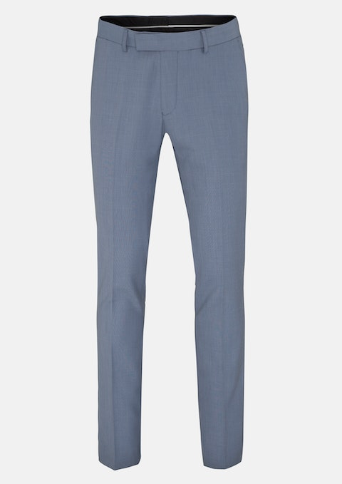 Light Blue Darrie Skinny Dress Pant