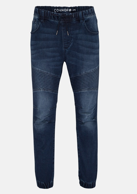 Blue Lynn Denim Jogger