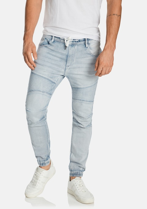 Light Blue Lynn Denim Jogger