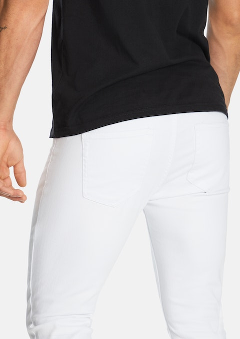 White Sawyer Skinny Jean