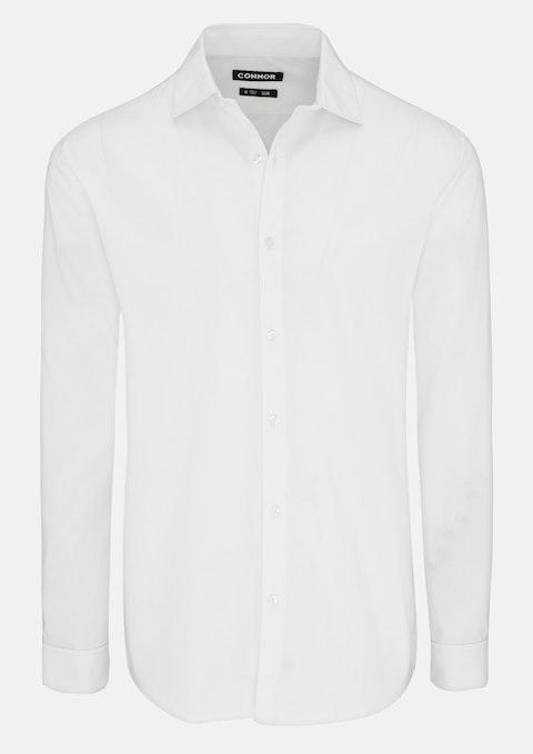 White Jayson Slim Dress Shirt