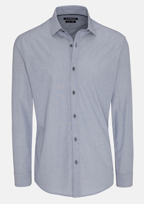 Silver Brayden Slim Dress Shirt