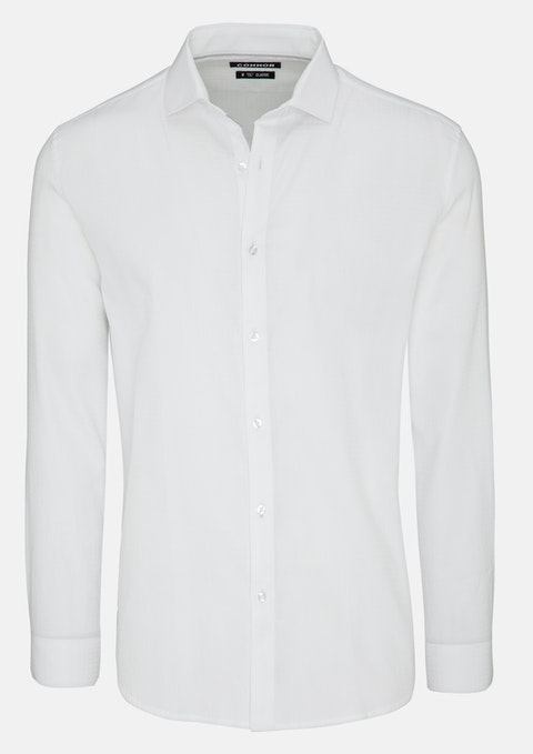 White Oliver Dress Shirt