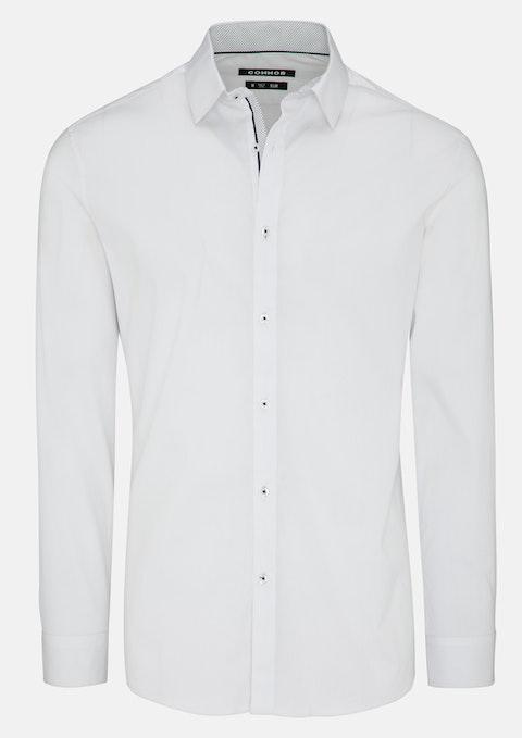 White Brightside Slim Dress Shirt