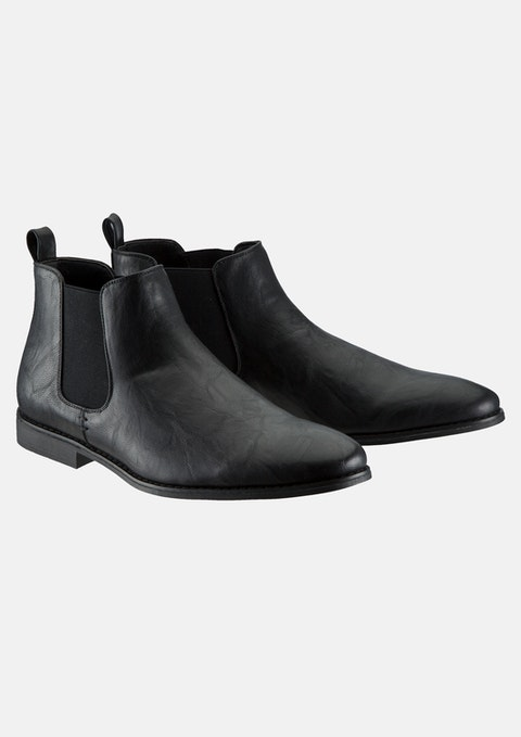 Black Espin Boot
