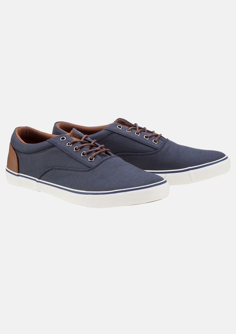Navy Kasper Shoe