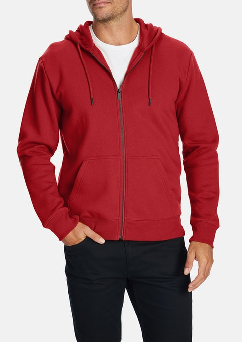 Red Asher Hoodie