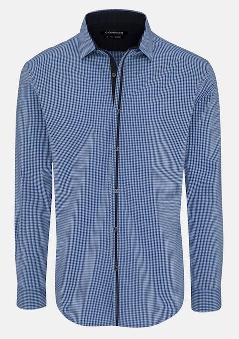 Blue Hans Stretch Shirt