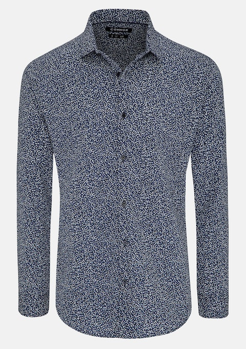 Blue Pete Slim Shirt