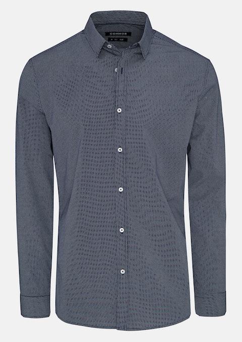 Navy Max Slim Shirt