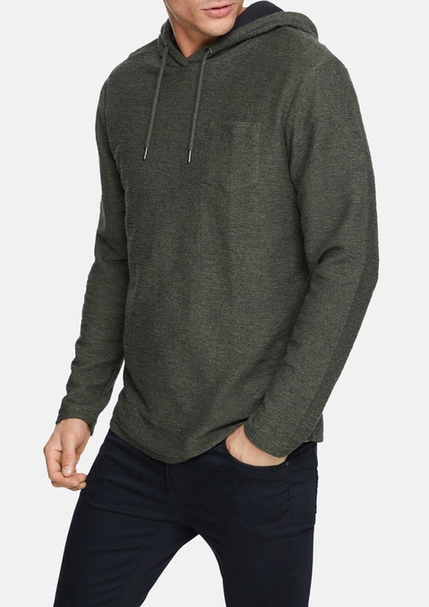 Military Canada Long Top