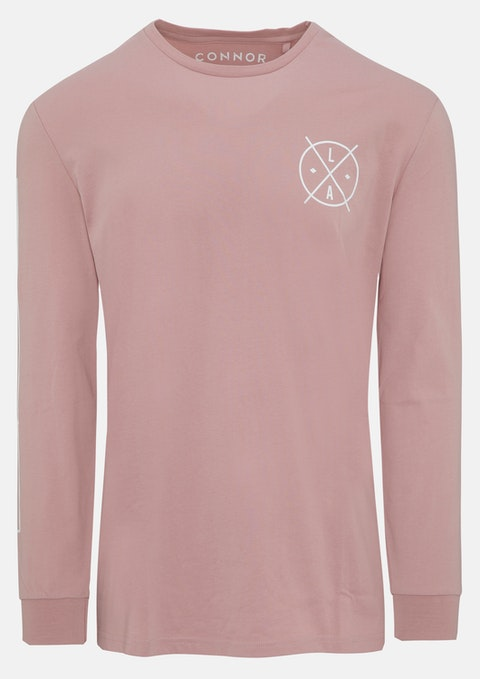 Dusty Pink Barclay Long Top