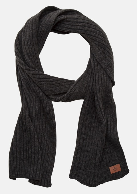 Charcoal Davy Scarf
