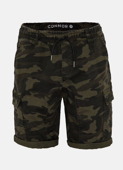 Military Camo Cargo Short