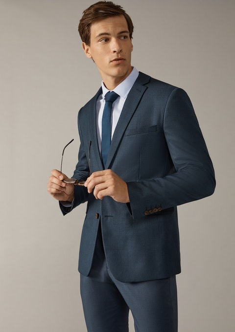 Steel Formosa Skinny Suit Jacket