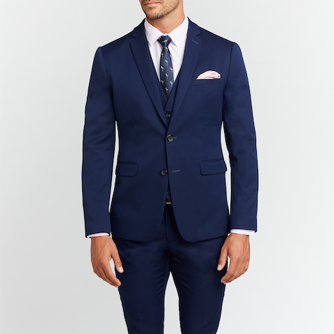 Diamond Stretch Skinny Suit by Connor