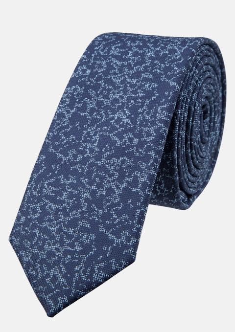 Navy Jacquard 5cm Tie