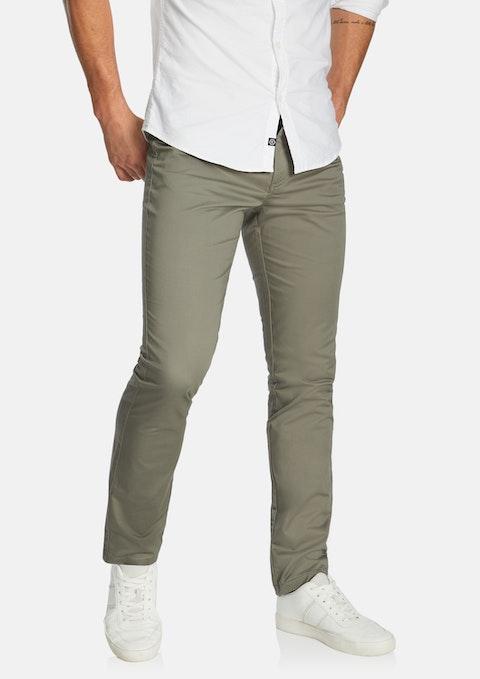 Grey Milton Stretch Slim Pant
