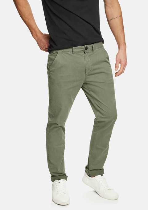 Military Lochlan Tapered Stretch Chino