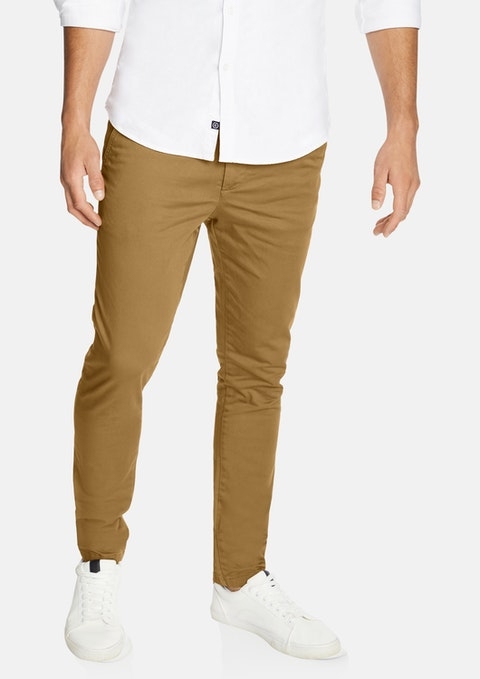 Caramel Pattinson Stretch Skinny Chino
