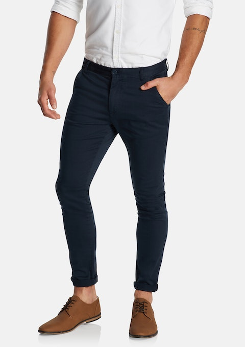 Indigo Pattinson Stretch Skinny Chino