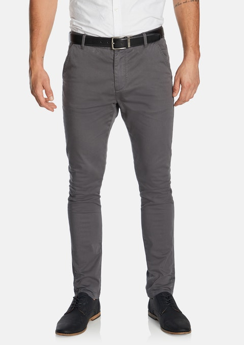 Smoke Pattinson Stretch Skinny Chino