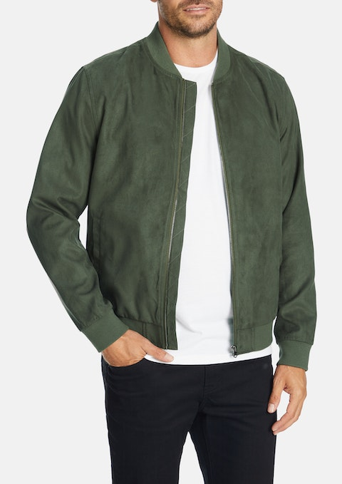 Military Doug Bomber Jacket
